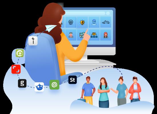 Allies Interactive Platform Microstock