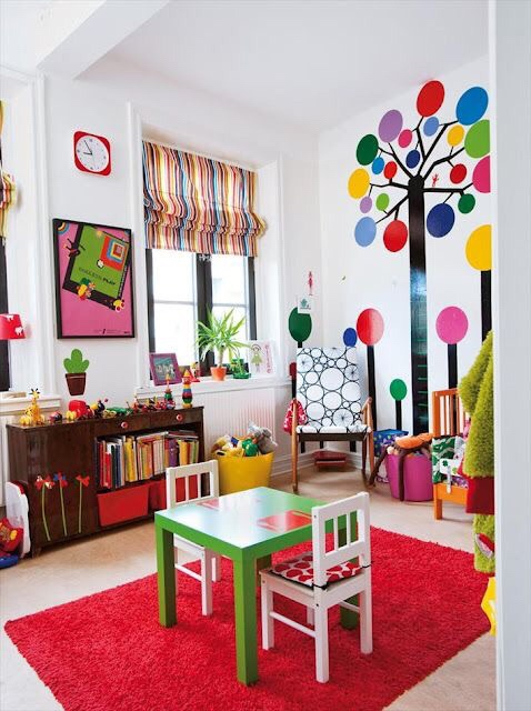 Kids Deserve Bold And Crazy Colorful Rooms, So, Letu0027s Admire These Colourful  Rooms Here With Me.