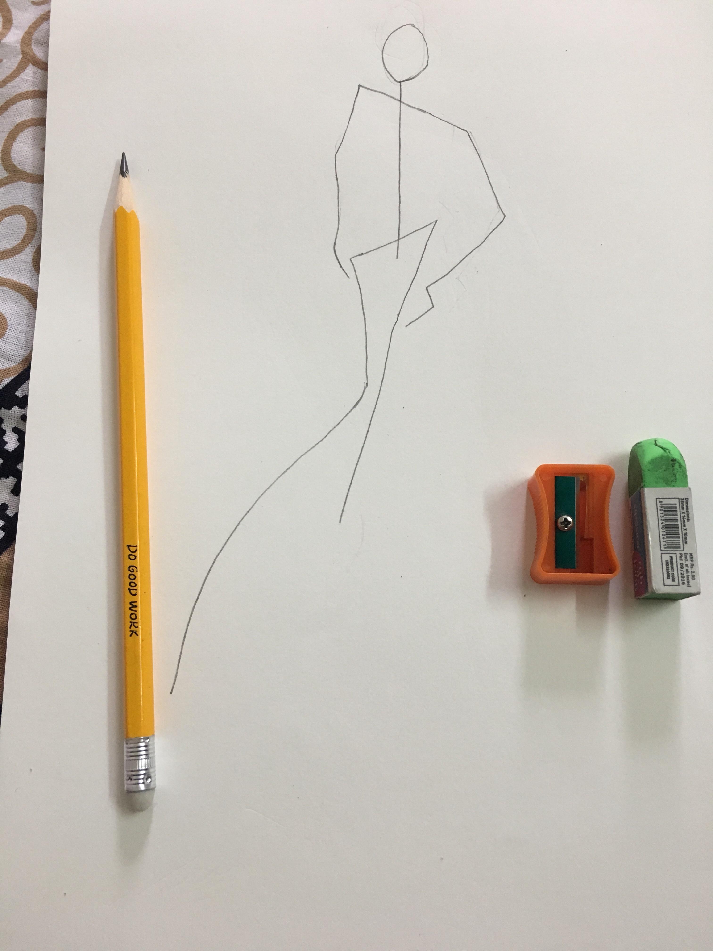 Fashion Fashion Illustration Sketches Step By Step