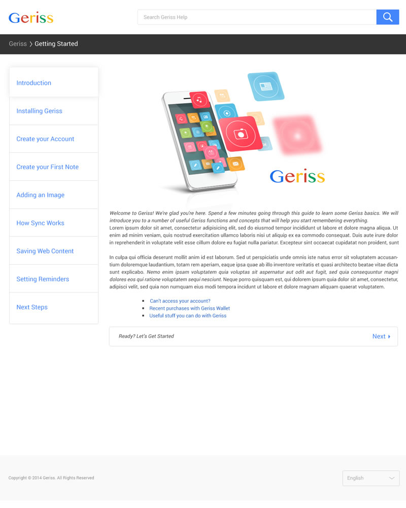 Geriss_HTML_Theme_Getting_Started_Page