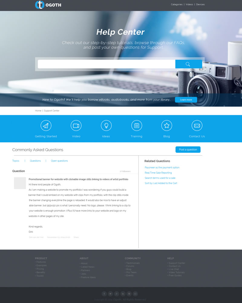 Ogoth_HTML_Theme_Commonly_Asked_Question_Page