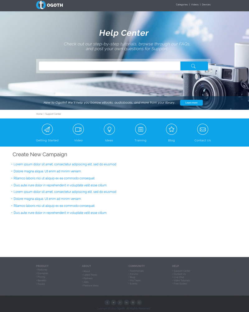 Ogoth_HTML_Theme_Create_New_Campaign_Page