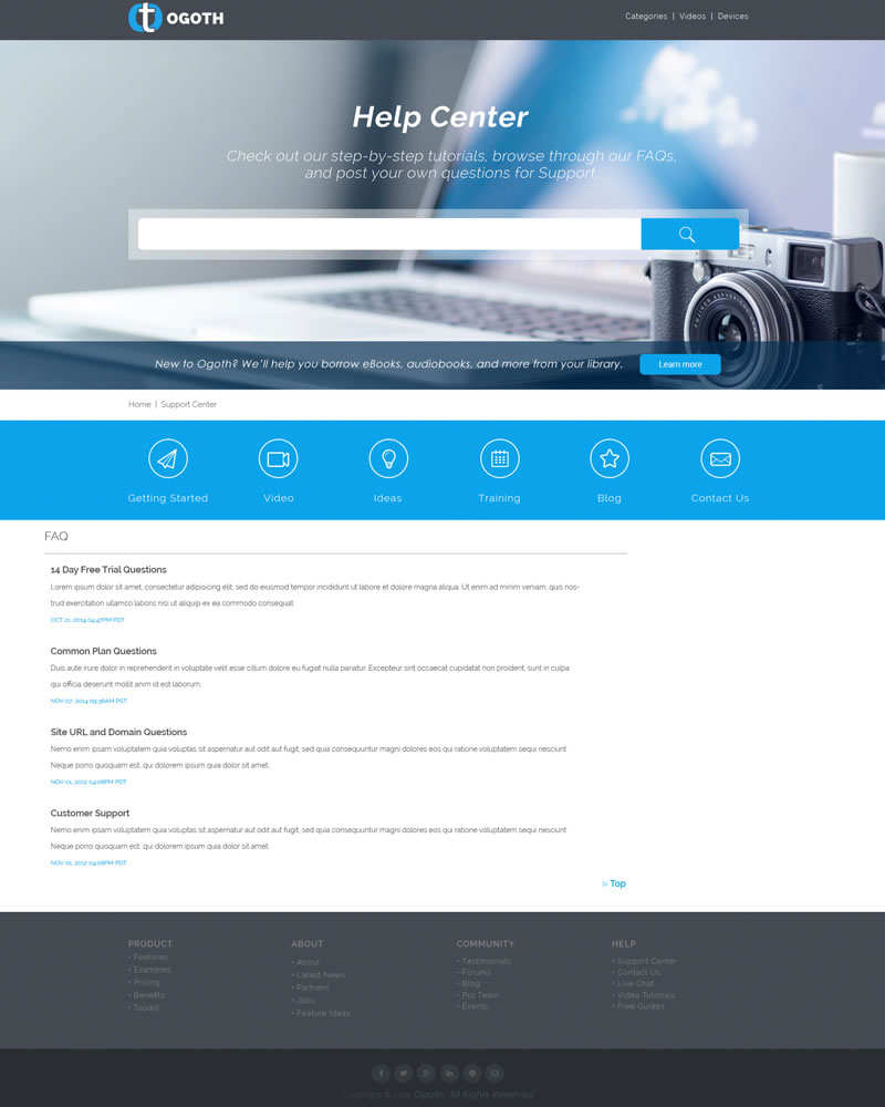 Ogoth_HTML_Theme_FAQ_Page