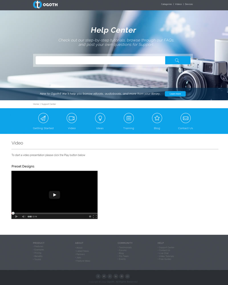 Ogoth_HTML_Theme_Video_Page