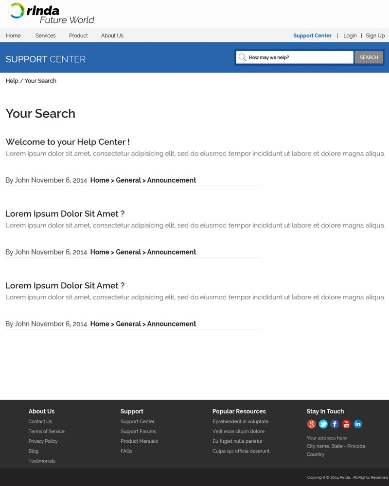 Rinda Zendesk Theme Search Results Template